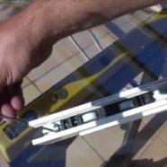 Roulette de coulissant baie vitrée